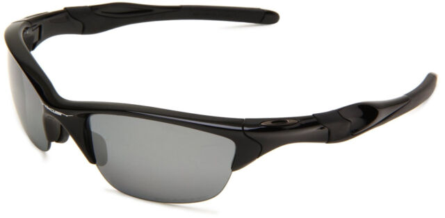 oakley half jacket 2 0 polarized polished black iridium sunglasses rh ebay com