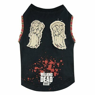 Vorsichtig The Walking Dead - Hunde T-shirt - Daryl Dixon Wings (s-xl)