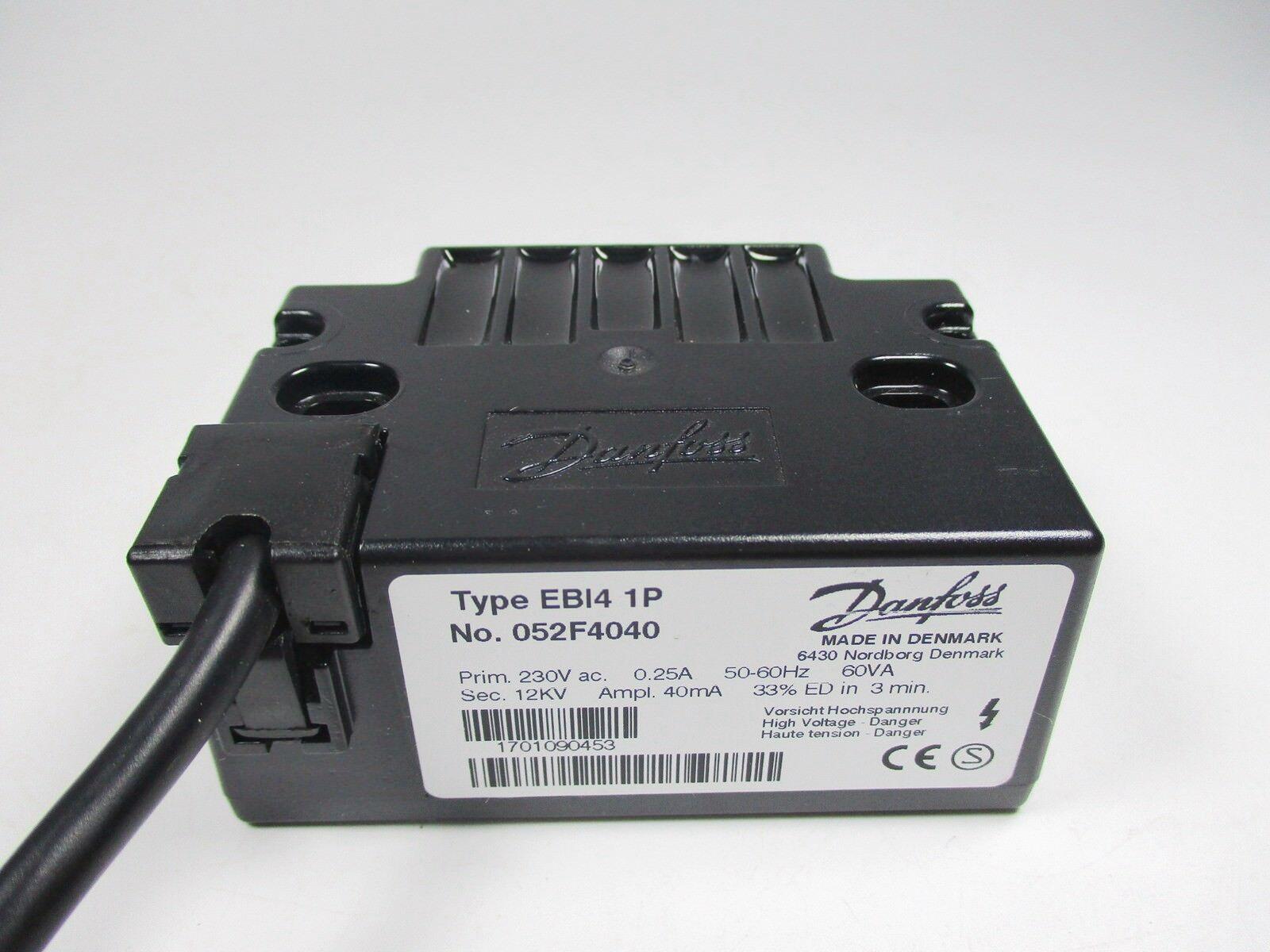 1PC New EBI4 1P No.052F4040 For Danfoss Ignition transformer For burner