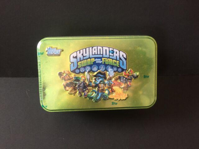Skylanders Swap Force Topps Cards Collector Tin For Sale Online Ebay