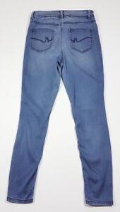 Next Legging Skinny Stretch Short Jeans Taille 12 W29 L27 Bon Pour L'éNergie Et La Rate