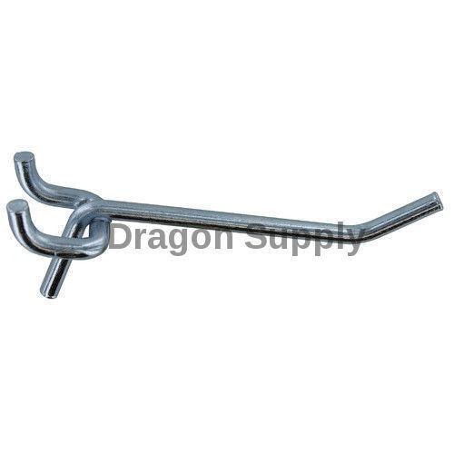 """100pc 6/"""" Heavy Duty PEG BOARD HOOKS Shelf Hanger 3//16/"""" Garage Storage Display"""