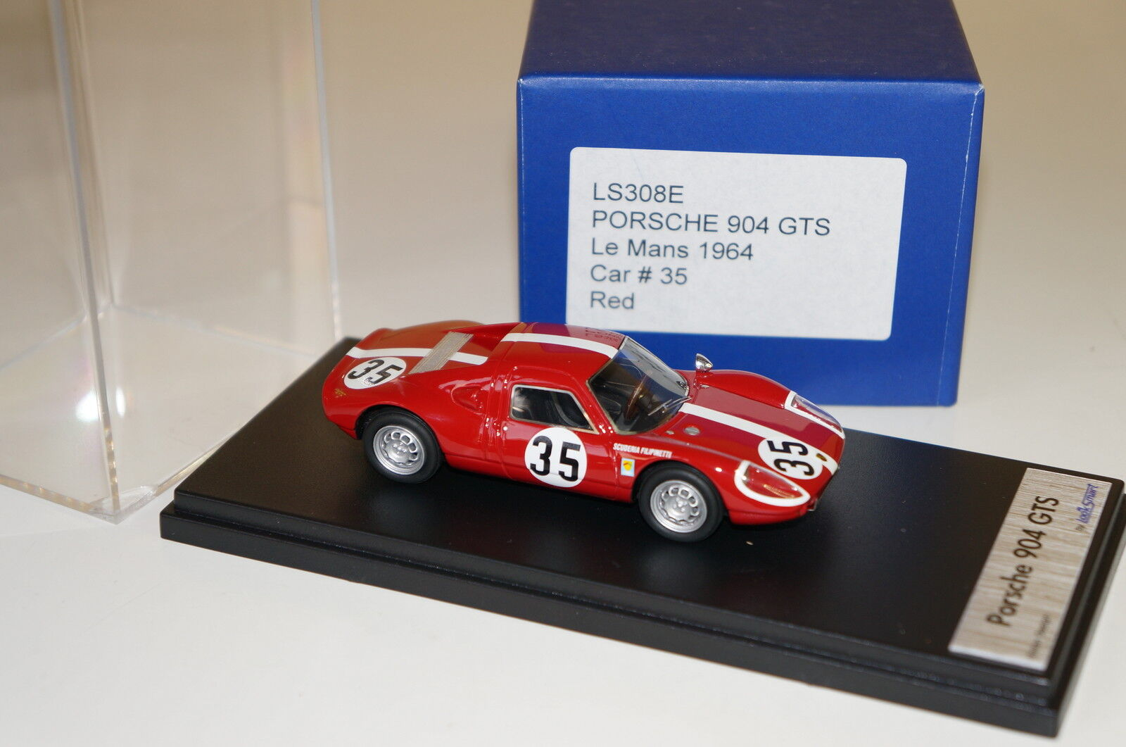 disegni esclusivi guardaSMART PORSCHE PORSCHE PORSCHE 904 GTS  35 LE uomoS 1964 rosso 1 43  n ° 1 online