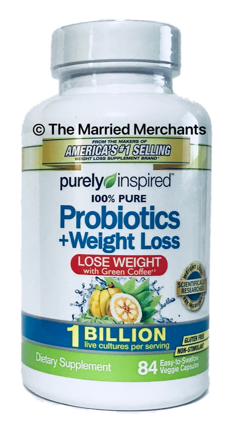 Best Probiotics For Weight Loss 2020.Purely Inspired 100 Pure Probiotics Weight Loss 84 Veggie Capsules