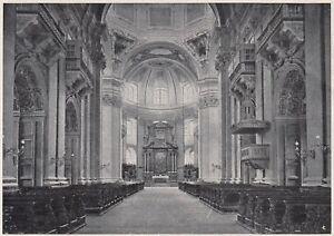 D6817 Salisburgo - Interno della Cattedrale - Stampa d'epoca - 1930 old print - Italia - D6817 Salisburgo - Interno della Cattedrale - Stampa d'epoca - 1930 old print - Italia