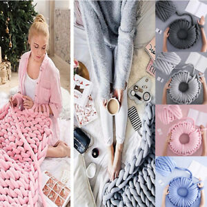 250g-Super-Chunky-Yarn-Arm-Knitting-Blanket-Bulky-Yarn-Hand-Knitting-DIY-Blanket
