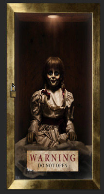 "Creation Movie Silk Fabric Poster Horror 27/""x40/"" Annabelle"