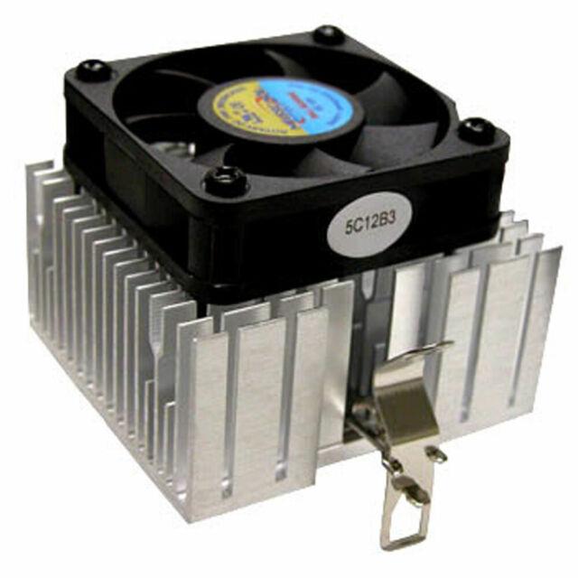 Lot of 2 MASSCOOL 5F9001B1H3 80mm Ball CPU Cooler Heat Sink /& Fan