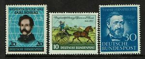 Germany-SC-691-693-Mint-Hinged-Hinge-Remnant-S4322