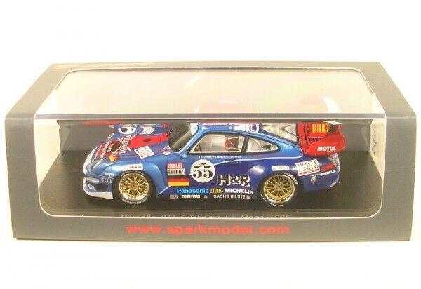Porsche 911 gt2 Evo No. 55 LeMans 1996 (J. - P. Jarier-J. Pareja-D. Chappell)