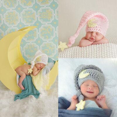 bdf752946 Newborn Infant Toddler Baby Girls Boys Winter Warm Crochet Knit Hat Beanie  Cap   eBay