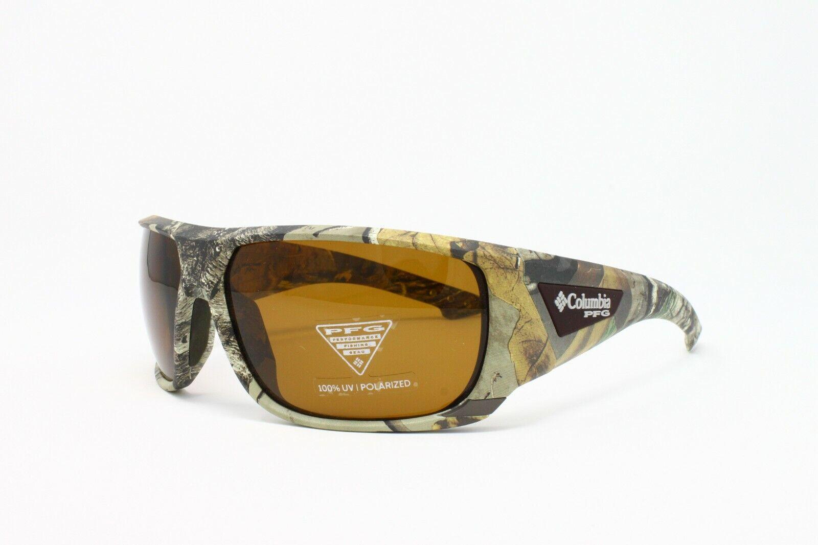 ! nuevo! Columbia Gafas de sol polarizadas C 508 Zap. Deportivas BLANCAS - 229 Arbor Pico Real Tree pfg 100% Uv