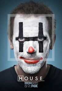 New-TV-Poster-Print-House-MD-Hugh-Laurie-A3-A4