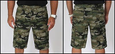 MEN'S CASUAL CAMOUFLAGE MILITARY ARMY CARGO SHORTS HUNTING SPORTS SHORT PANTS