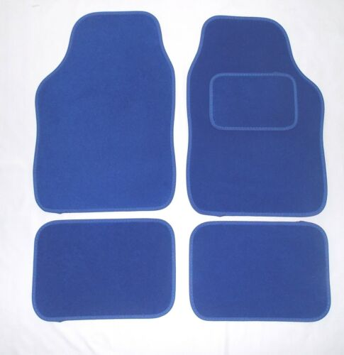 BLUE Tappetini auto per Ford Escort Fiesta Focus Fusion RS ST