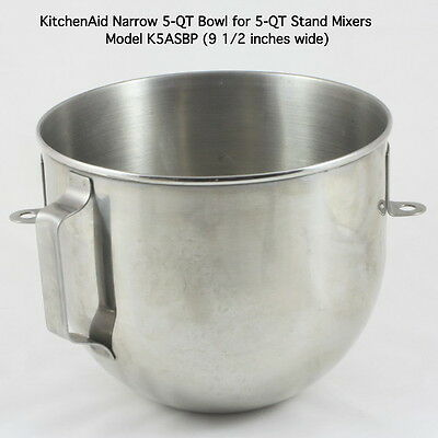 Brand New Bowl K5asbp For Kitchenaid Stand Mixer 5 Qt