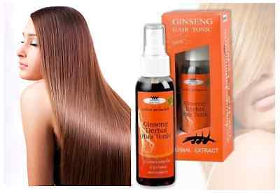 FAST HAIR GROWTH SERUM (110ml) Ginseng Tonic - Stop Hair Loss - Promote Regrowth