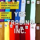 PRO CLUB PROCLUB Heavy Weight Short Sleeve Plain T-shirts Tee S-5XLT ALL NEW