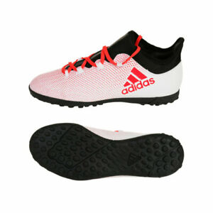 Adidas-X-Tango-17-3-Turf-J-Kids-CP9025-Shoes-Boys-Youth-Soccer-Casual-White-13-5
