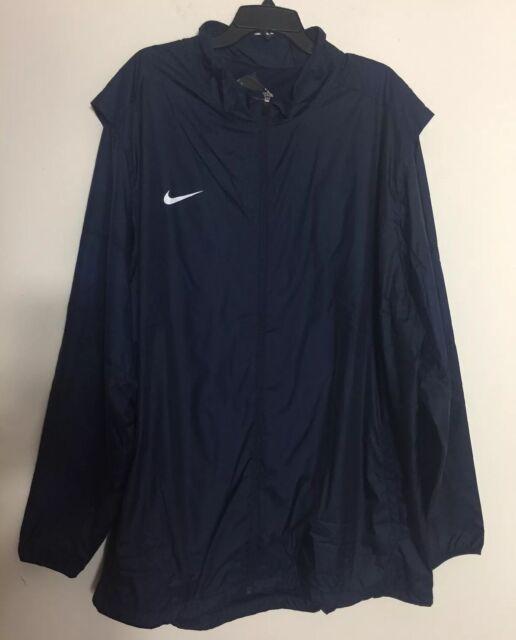 835f405a7b Nike Team Woven Football Zip Jacket Navy Blue White Men s Size 3xl  747986-419