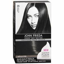 John Frieda Precision Hair Colour Kit Luminous Blue Black [2A] 1 Each (6 pack)