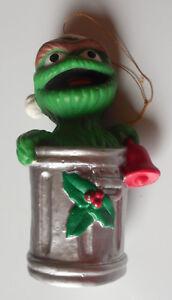 Sesame Street Oscar The Grouch Kurt S. Adler Santa's World ...