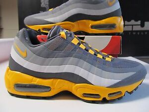 official photos 5ede8 92705 Details about DS Nike Air Max 95 NO SEW Laser Orange Cool Grey Silver  616190 080 90 1 og