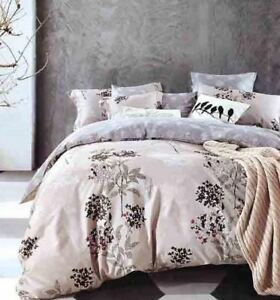DF-054-Cotton-Duvet-Cover-Set-Quilt-Bedding-Set-Pillow-Cases-amp-Fitted-Sheet