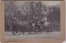 Kab Kaiser Wilhelm II K v Preußen m Mutter Kaiserin Friedrich in Karlsruhe 1890