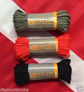 PARACORD-550-heavy-duty-cord-50ft-survival-emergency-preparadness-disaster-UST