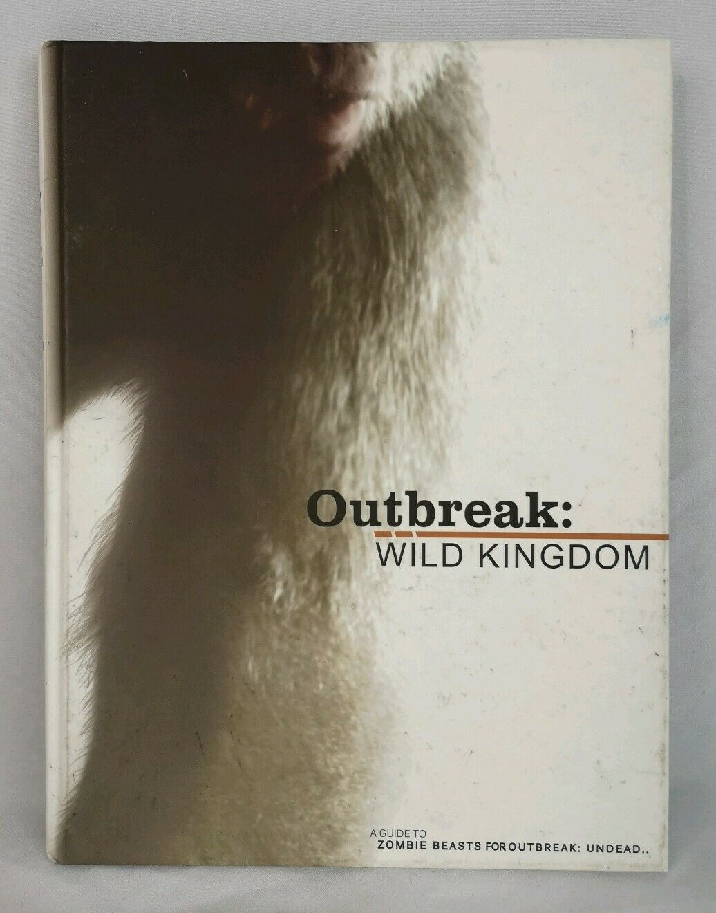 Outbreak Undead Wild Kingdom Zombie Beasts Horror RPG Hardcover Book