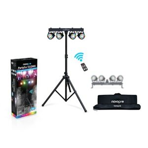 Novopro-Partybar-100-DMX-DJ-Disco-All-in-One-Stage-DEL-Parcan-Lighting-System