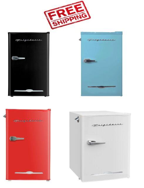 Stainless Steel Mini Fridge Refrigerator Compact Vintage Retro Bar Office Dorm For Sale Online Ebay