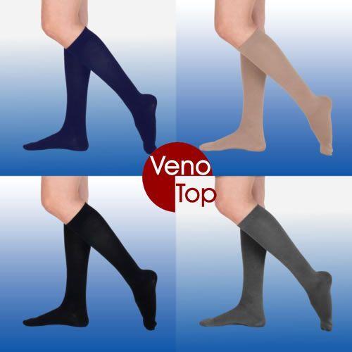 VenoTop Stützstrümpfe 280 den, Mikrofaser, verschiedene Farben