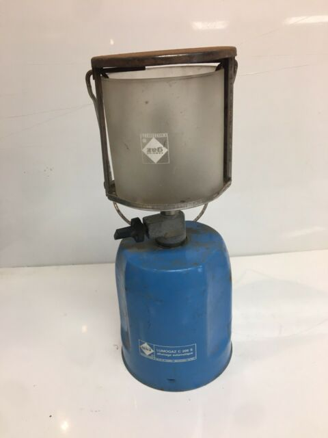 Vintage Campingaz Lumogaz C 200 S Aa Automatic Lantern Lamp Camping Gas Gaz For Sale Online Ebay