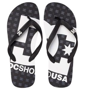 Dc-shoes-infradito-gomma-uomo-Spray-black-sandals-mare-piscina