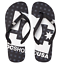 Dc-shoes-infradito-gomma-uomo-Spray-black-sandals-mare-piscina miniatura 1