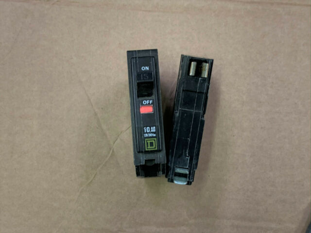 Square D QO115 Circuit Breaker No Window ** Free Shipping ** Old Style