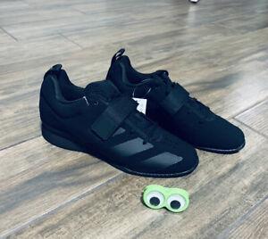 Black Adidas Adipower Weightlifting