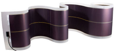 100w 319v dc roll up Flexible solar panel 100% flexible Thin Film