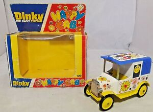 Dinky-Diecast-Toys-1978-la-cabina-Feliz-120-en-Caja