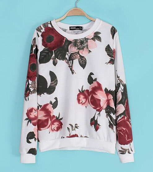 Pullover sweatshirt weich weich weich frau aus baumwolle rundhalsausschnitt weiß Rosan | 2019  | Zürich Online Shop  |  Neuer Markt  0fd85a