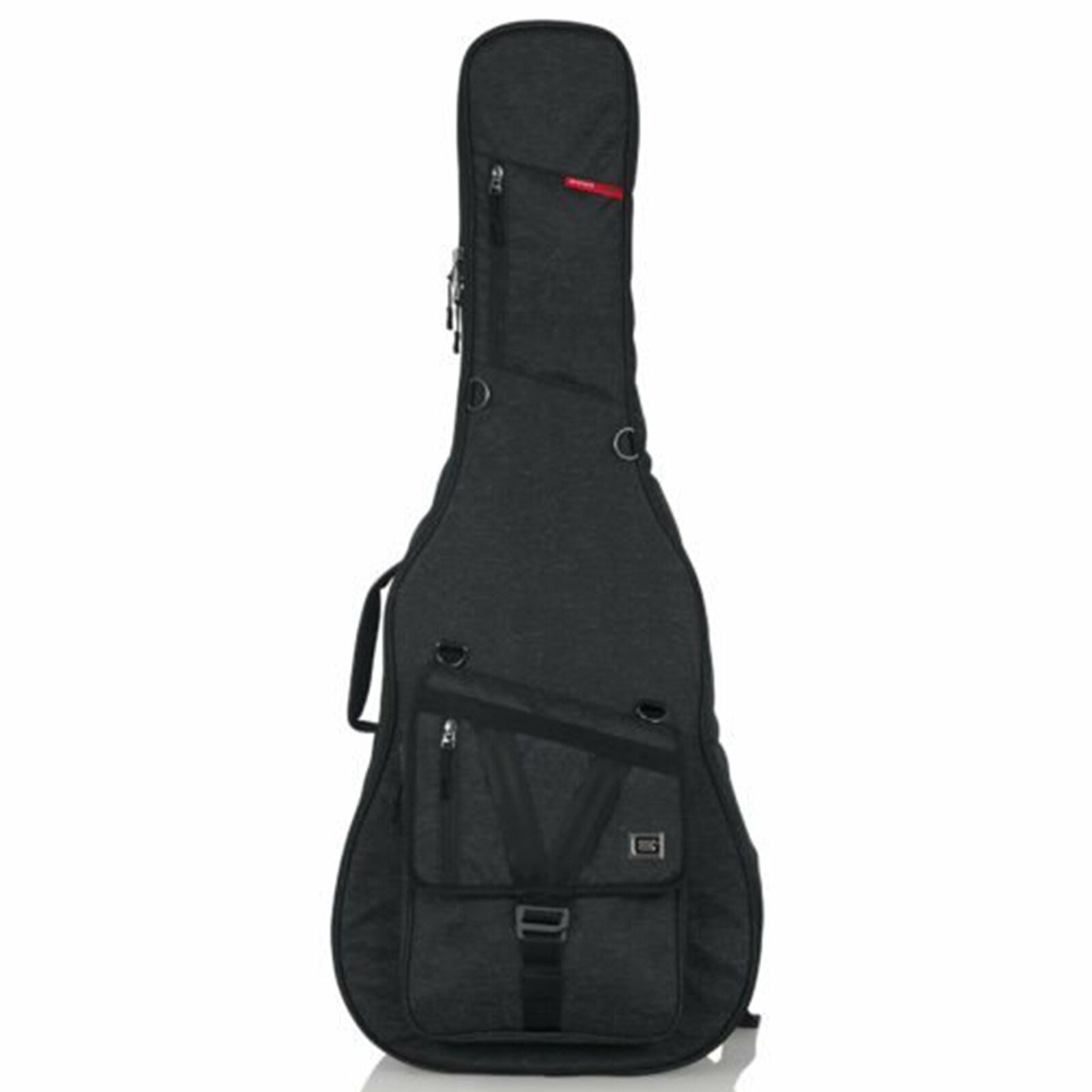 Gator Transit Series Gig Bag - Acoustic Guitar - Charcoal