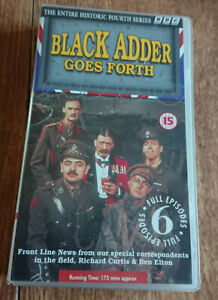 BLACKADDER-GOES-FORTH-Entire-Historic-Series-4-Rowan-Atkinson-PAL-VHS-Video