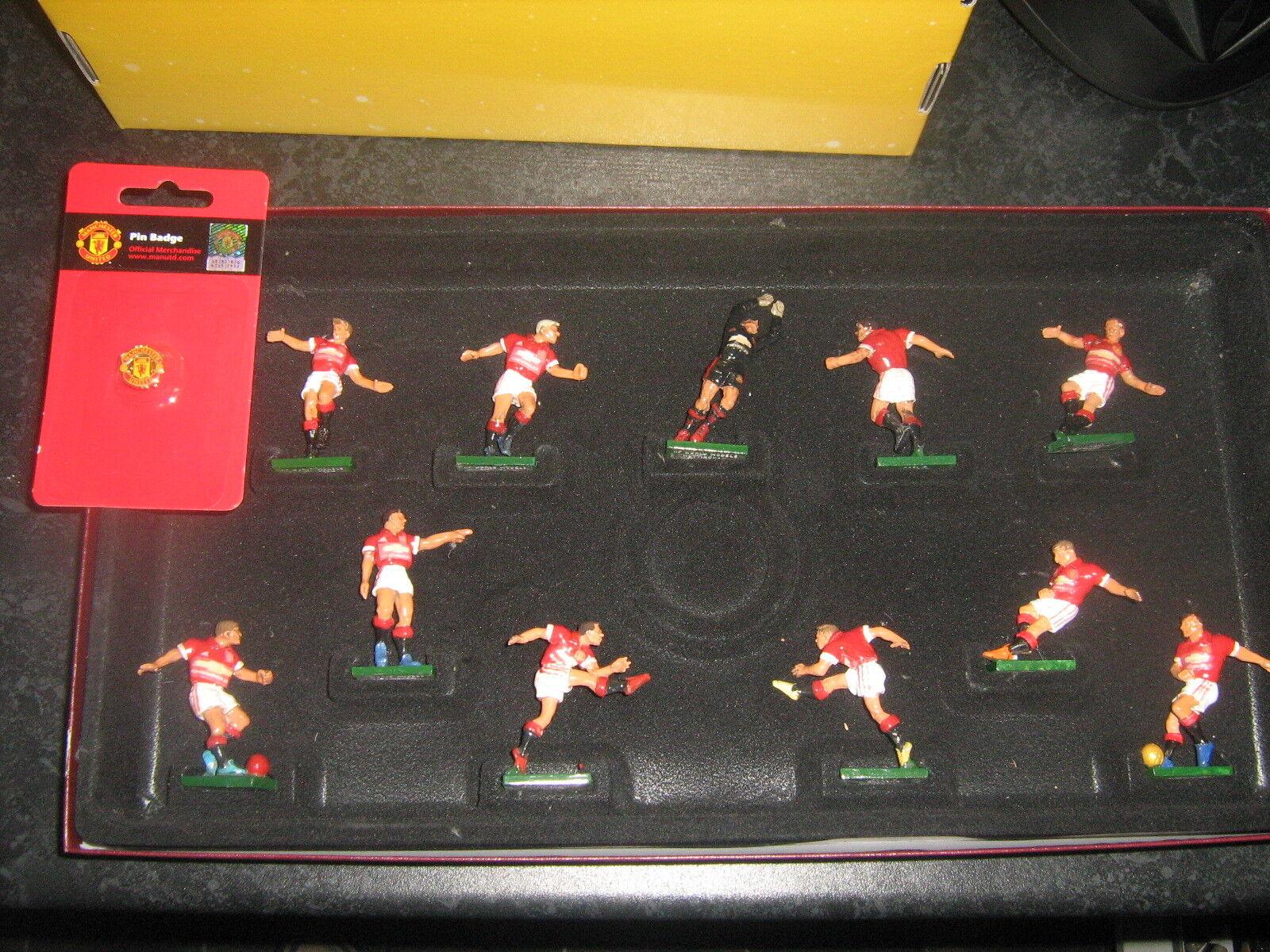 Fútbol Pintado a Mano Figuras De Metal Fundido Man Utd