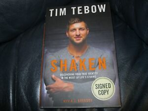 Tim-Tebow-Signed-Autographed-Book-Shaken-Beckett-Pre-Certified