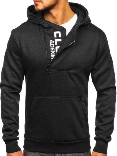 Kapuzenpullover Pullover Sweatshirt Sport Hoodie Men Kapuze Herren BOLF Aufdruck