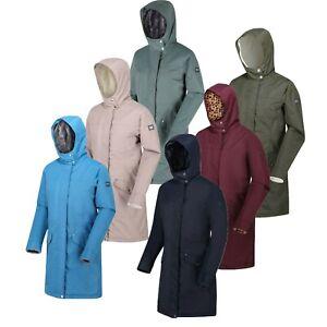 Regatta-Womens-Rimona-Long-Length-Insulated-Parka-Waterproof-Jacket-RRP-100
