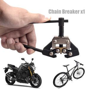Motorcycle Bicycle Chain Breaker Cutter Repair Tool Fit 415 420 428 520 530 US