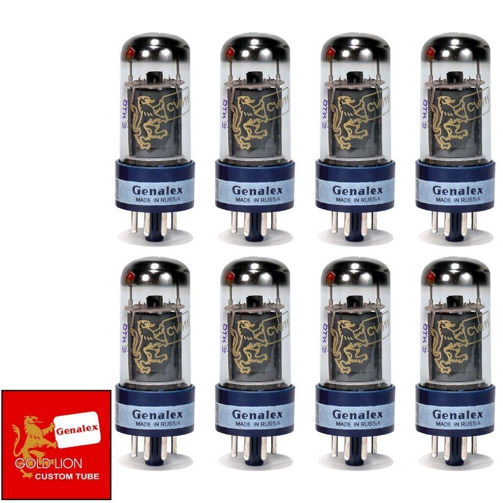 NUEVO Genalex Reissue 6V6GT 6V6 actual emparejado octeto (8) (8) (8) los tubos de vacío  ventas en linea